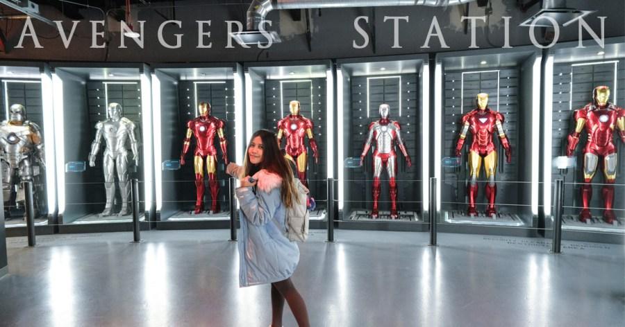拉斯維加斯│漫威復仇者站 Avengers STATION~超帥!漫威迷一生必來朝聖的1:1鋼鐵衣展示