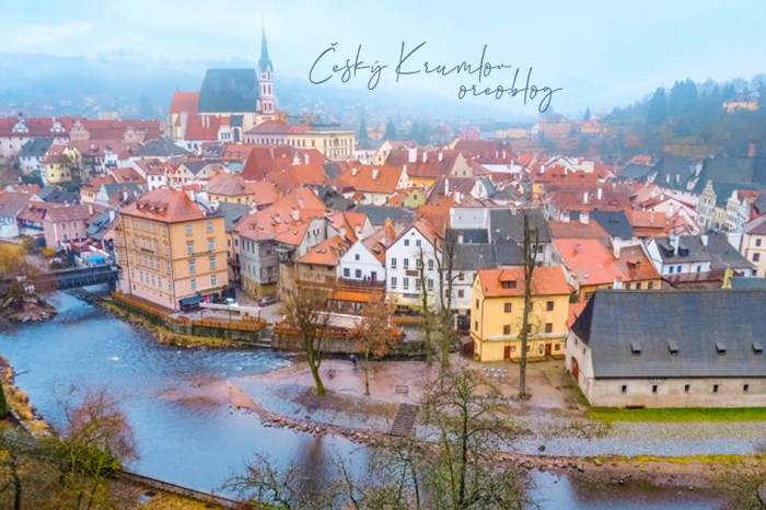 奧捷遊記│捷克Krumlov庫倫諾夫~仙氣逼人的童話世界!世界十大最美小鎮之一