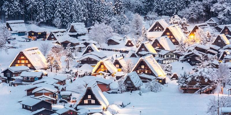 [OREO的旅行日記] (部落格旅展。分享抽千元行程折價券)2016雪地薑餅屋,一年只有七天的合掌村點燈,美到極點的雪地景致,名古屋