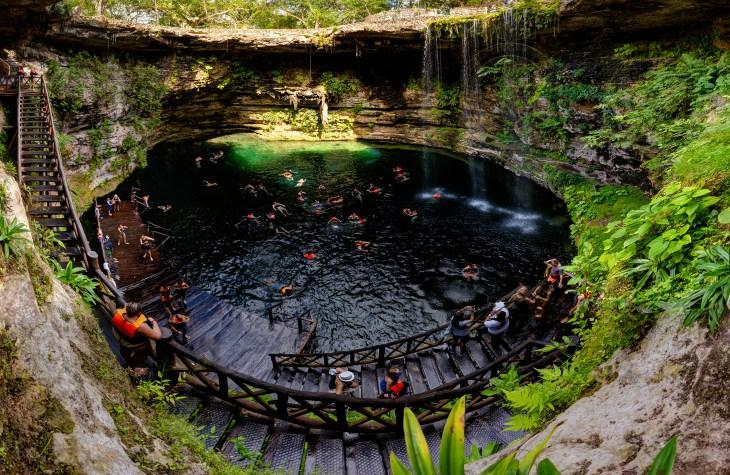 Cenote Hacienda Selva Maya - Yucatan - Mexico
