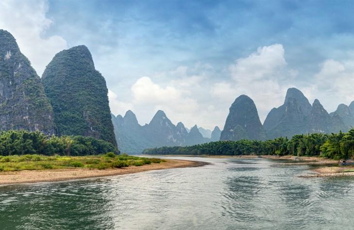 Li river - Yangshuo, Guilin - China_