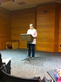 Reading at Canadian Authors Niagara.
