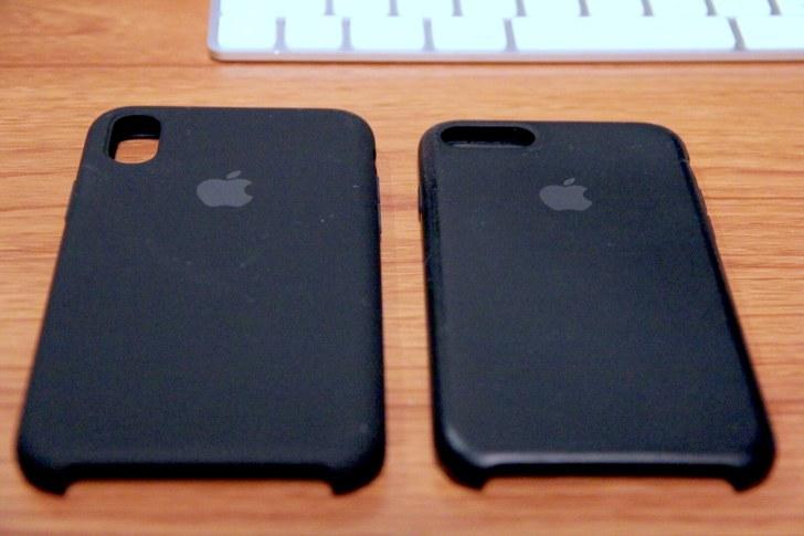 iPhoneXとiPhone7の写真