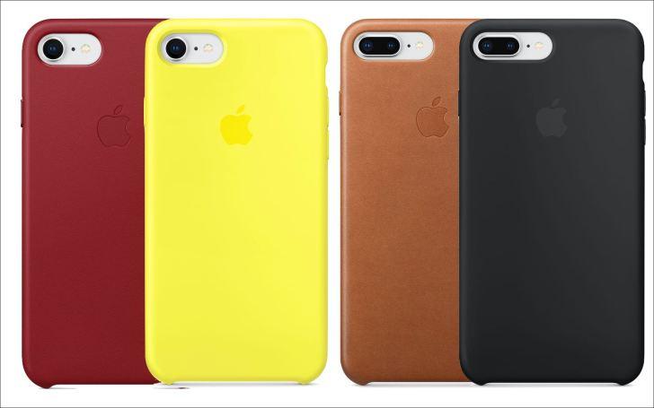 iPhone8:8PlusApple純正ケースの画像