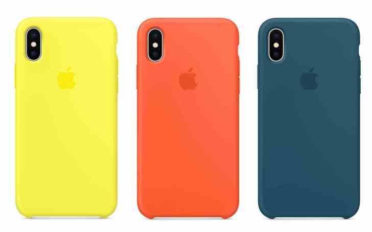 Apple純正シリコンケース新色3種類の画像