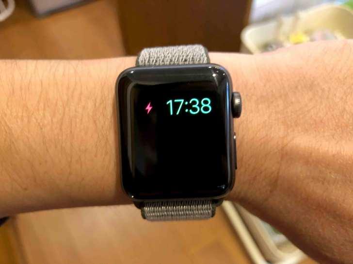 AppleWatchバッテリーに関する写真.4