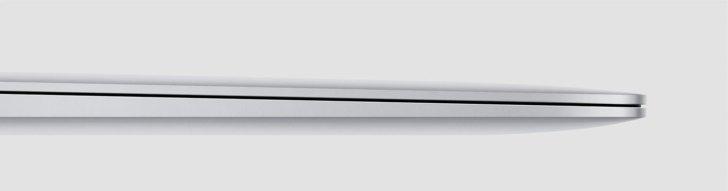 MacBook Air アルミニウムボディ
