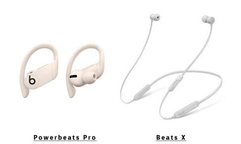 BeatsのBeats XとPowerbeats Pro イメージ