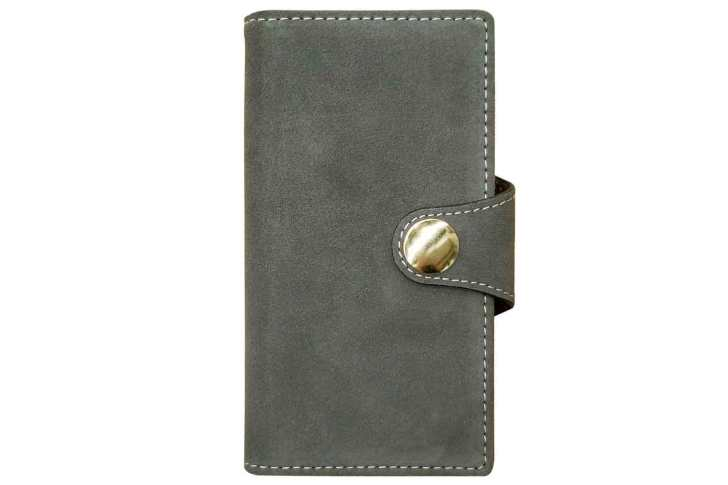 [Sslink]-iPhone11-Pro-notebook-type-suede-case