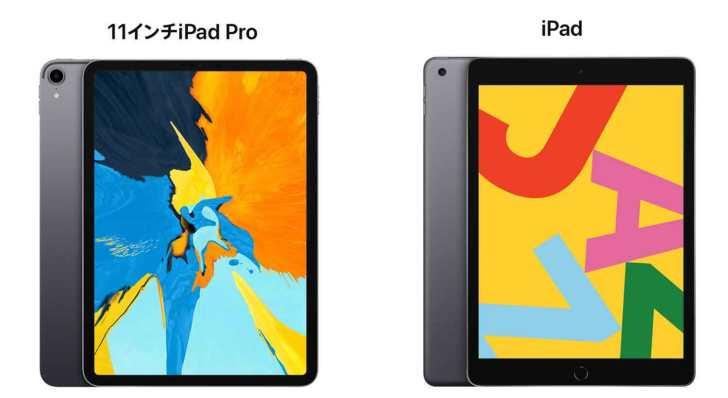 iPad-Pro11(2018)-iPad-10.2(2019)
