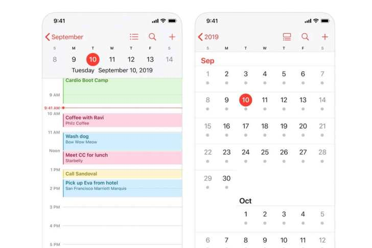 Calendar-iphone