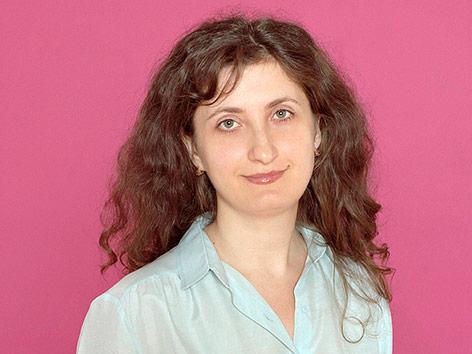 Schriftstellerin Liliana Corobca