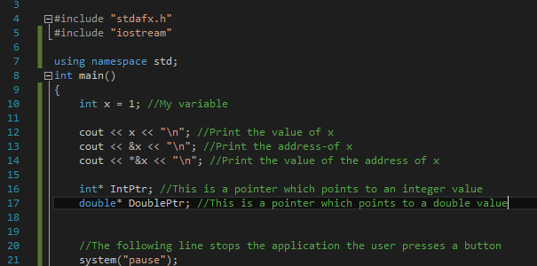 actual_pointers