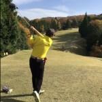 ゴルフのラウンドレッスン