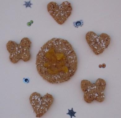 Friendly Halloween Cookies