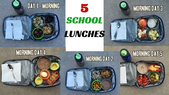5 delicious and nutritious school lunches