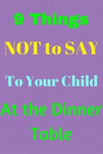 Do you have a picky eater? These 9 things will help you teach them become a great eater. I am guilty of number 5. Which one do you feel guilty about?