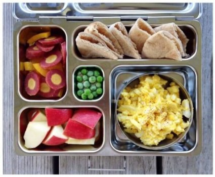 100 days of real food school lunches