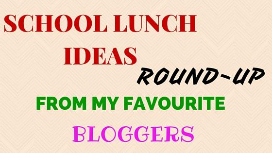 School lunch ideas round-up