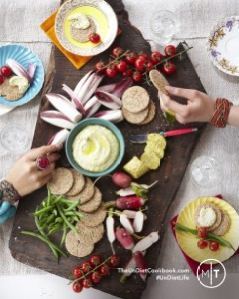 Zucchini hummus by Meghan Telpner