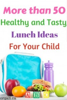 Delicious lunch ideas for kids