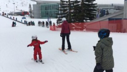 Learning how to ski