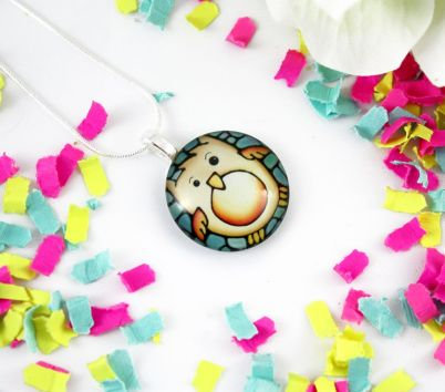 Kathy Lycka owl pendant