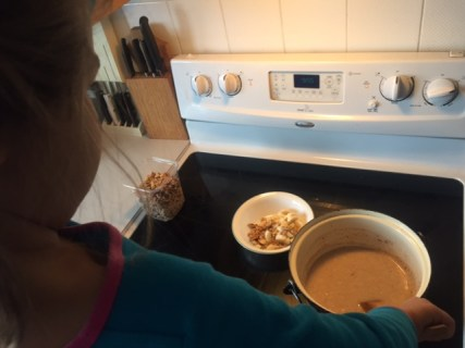 Learning how to cook oatmeal