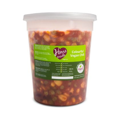 Delicious and nutritious vegan chili
