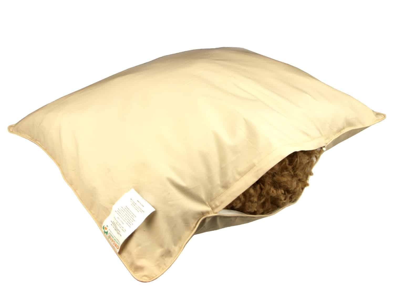 camel wool pillows