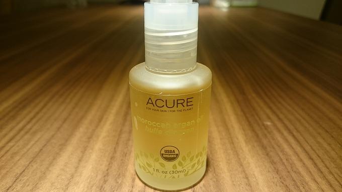 iHerb-Acure Organics社のアルガンオイル2