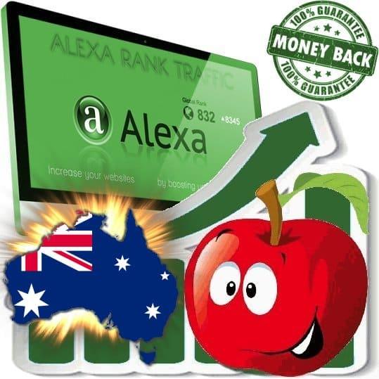 Buy Alexa Rank Traffic (Australia)