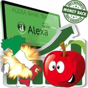 Buy Alexa Rank Traffic (Italy)