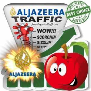 Buy Web Traffic - Aljazeera.com