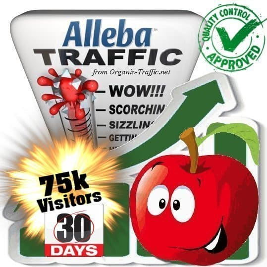 75k alleba search traffic visitors 30days