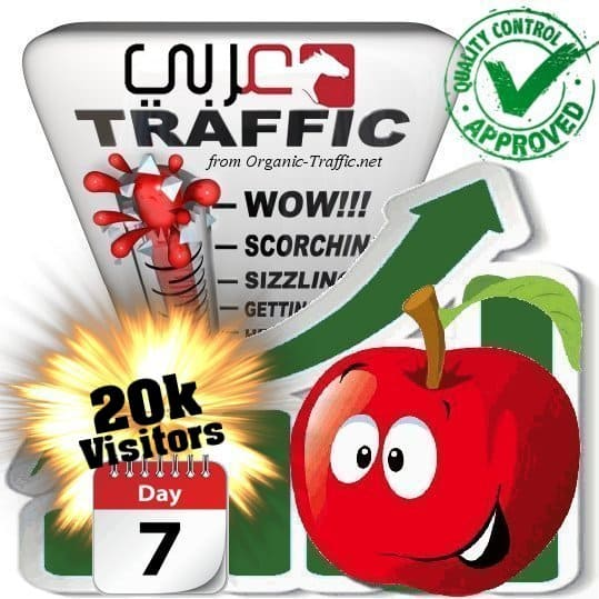 20k araby search traffic visitors 7days