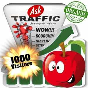 buy 1000 ask organic traffic visitors