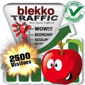 2500 blekko search traffic visitors