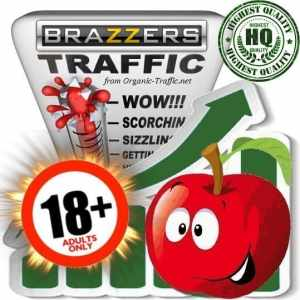 Buy Brazzers.com Adult Traffic