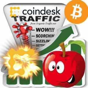 Buy CoinDesk.com Visitor Traffic