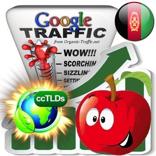 buy google afghanistan organic traffic visitors