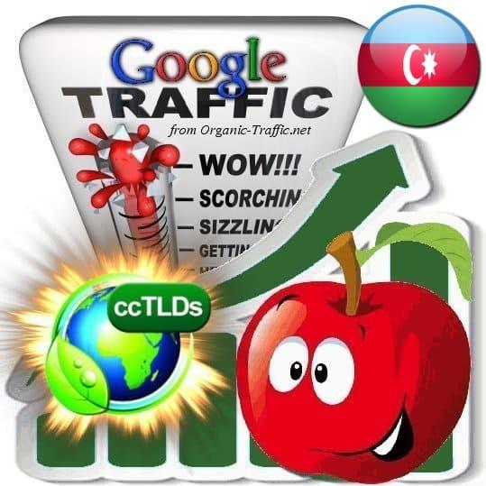 buy google azerbaijan organic traffic visitors