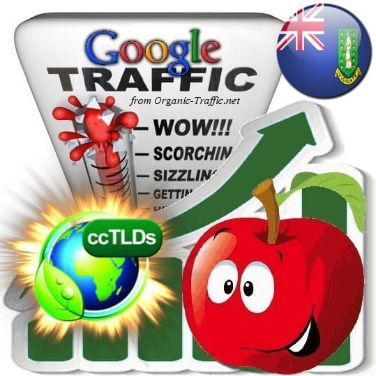 buy google british virgin islands organic traffic visitors