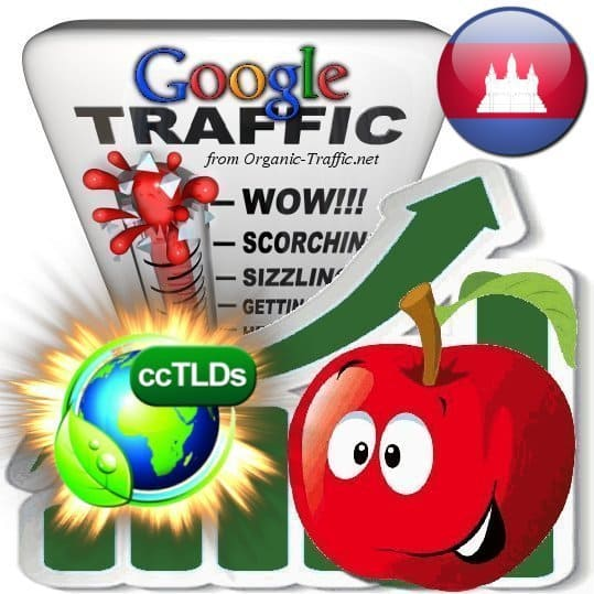 buy google cambodia organic traffic visitors