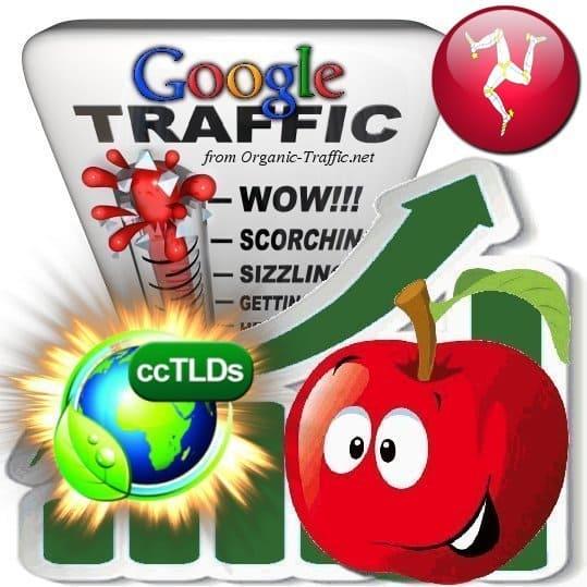 buy google isle of man organic traffic visitors
