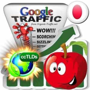 buy google japan organic traffic visitors