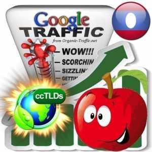 buy google laos organic traffic visitors