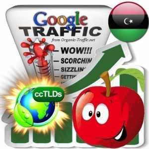 buy google libya organic traffic visitors