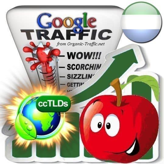 buy google sierra leone organic traffic visitors