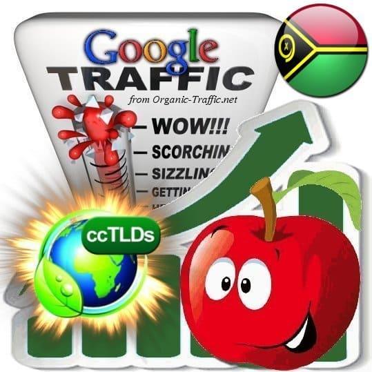 buy google vanuatu organic traffic visitors